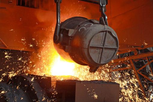 Perlite espansa finissima Extralit siderurgia isolante bagno acciaio