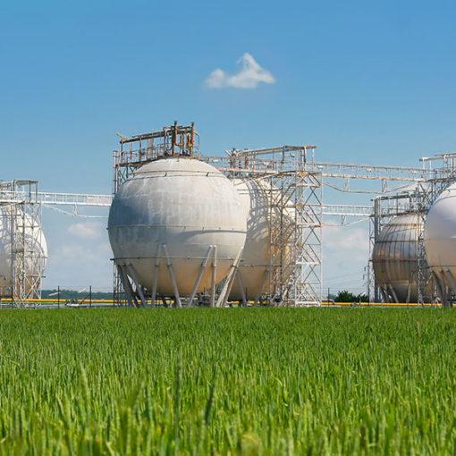 protezione passiva dal fuoco serbatoi industria petrolchimica