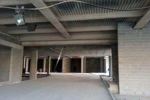 strutture in carpenteria ex scalo ferroviario porta vittoria milano centro polifunzionale intonaco Isolatek TYPE 300