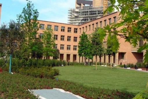 giardino pensile intensivo realizzato con sistema Perliroof - Perligarden - alberi di I grandezza - CR Firenze