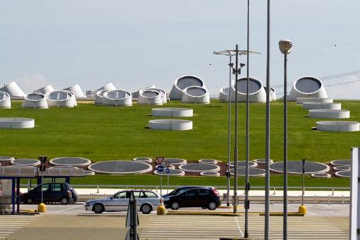 copertura a verde pensile intensivo a prato - sistema Perliroof - Centro commerciale Carosello - Carugate (MI)