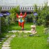 giardino pensile Perliroof - Perligarden con arbusti e piccoli alberi - abitazione privata Milano