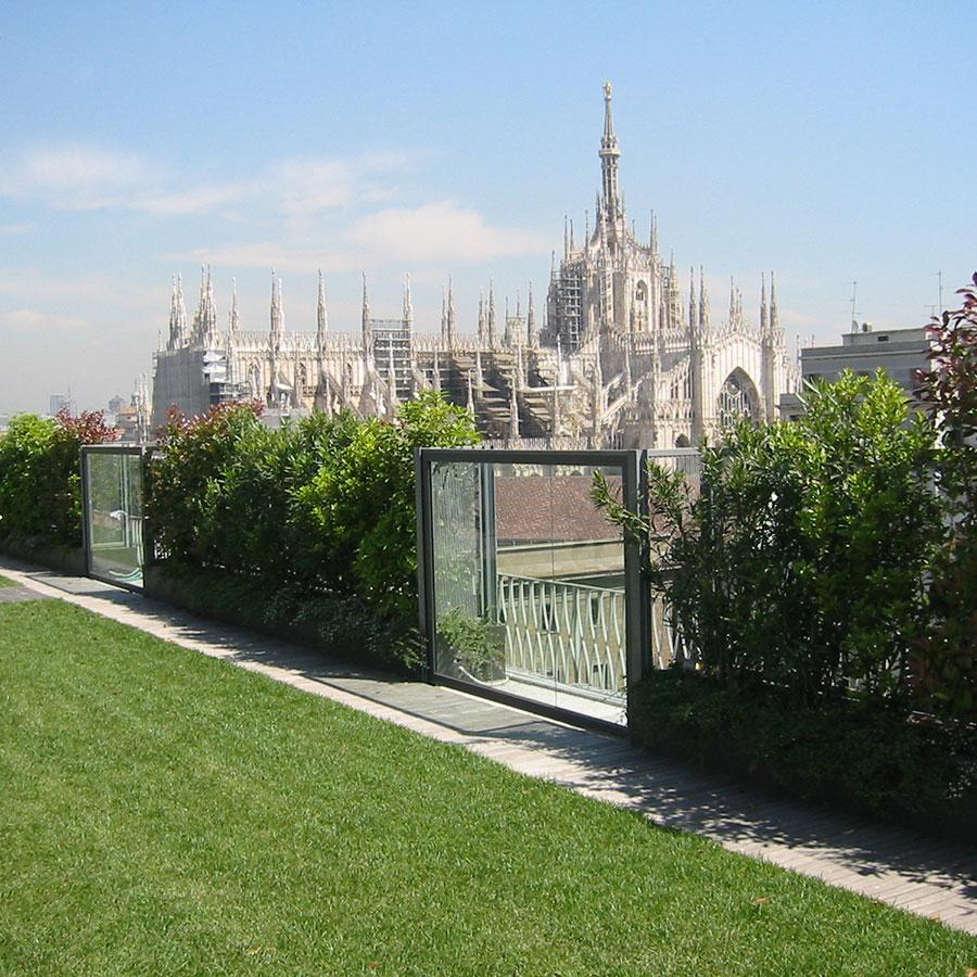 giardini pensili e verde tecnico sistema Perligarden