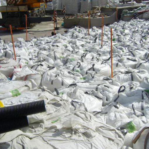 posa sacconi di Igroperlite riempimenti alleggeriti